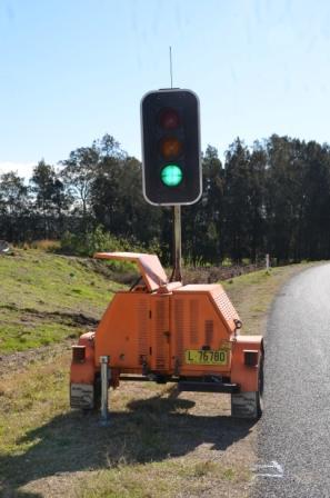 portable traffic lights