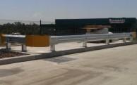 Car park guardrail